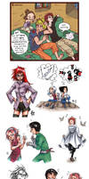 Naruto Sketchdump 4