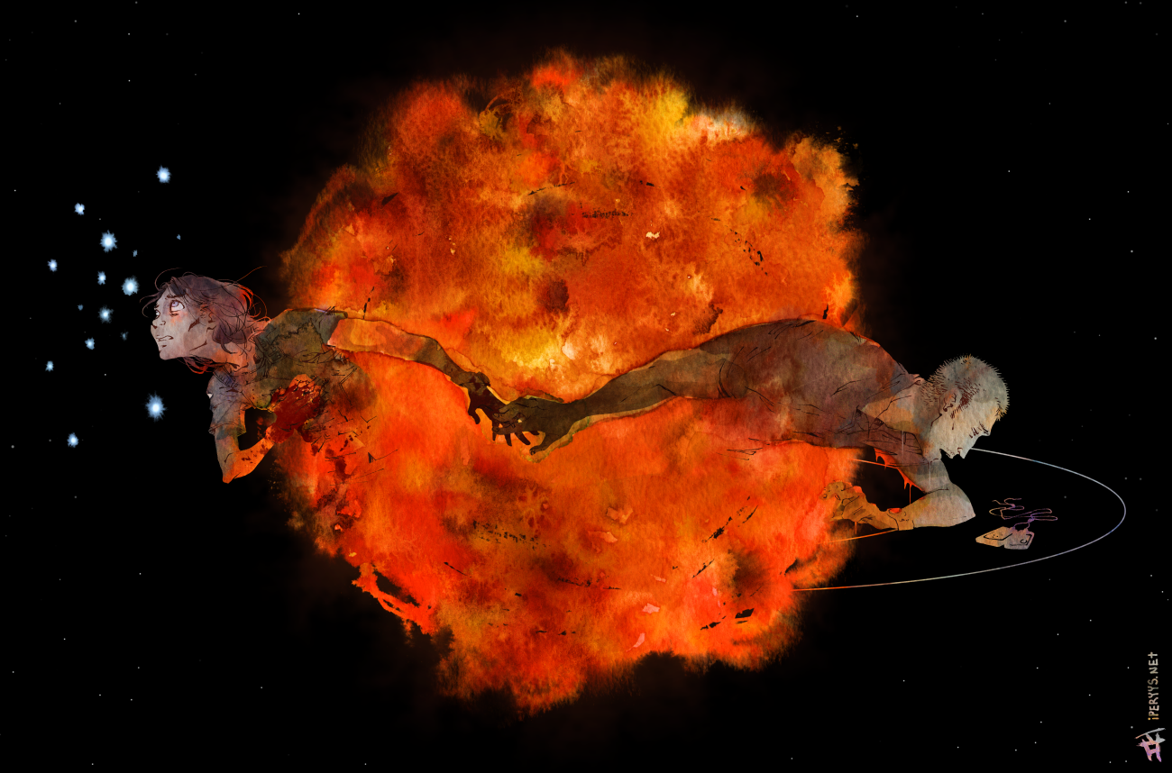 Stardust by kosmonauttihai