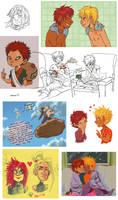 Naruto sketchdump The Last