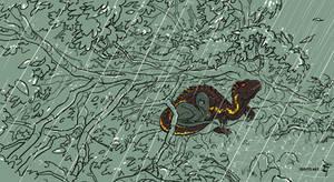 Raptor October: Storm by kosmonauttihai