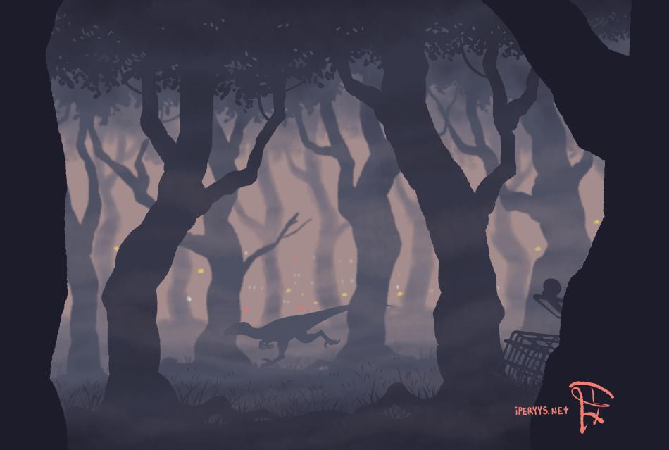 Raptor October: Fog by kosmonauttihai