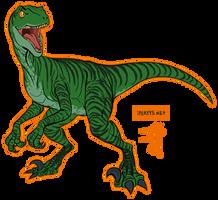 Raptor October: Charlie by kosmonauttihai