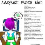 Annoyance Factor 9