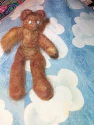 Teddy bear - felted