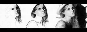 Emma Watson drawing (work in progress)