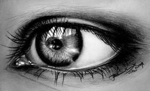 Stare eye by LivieSukma