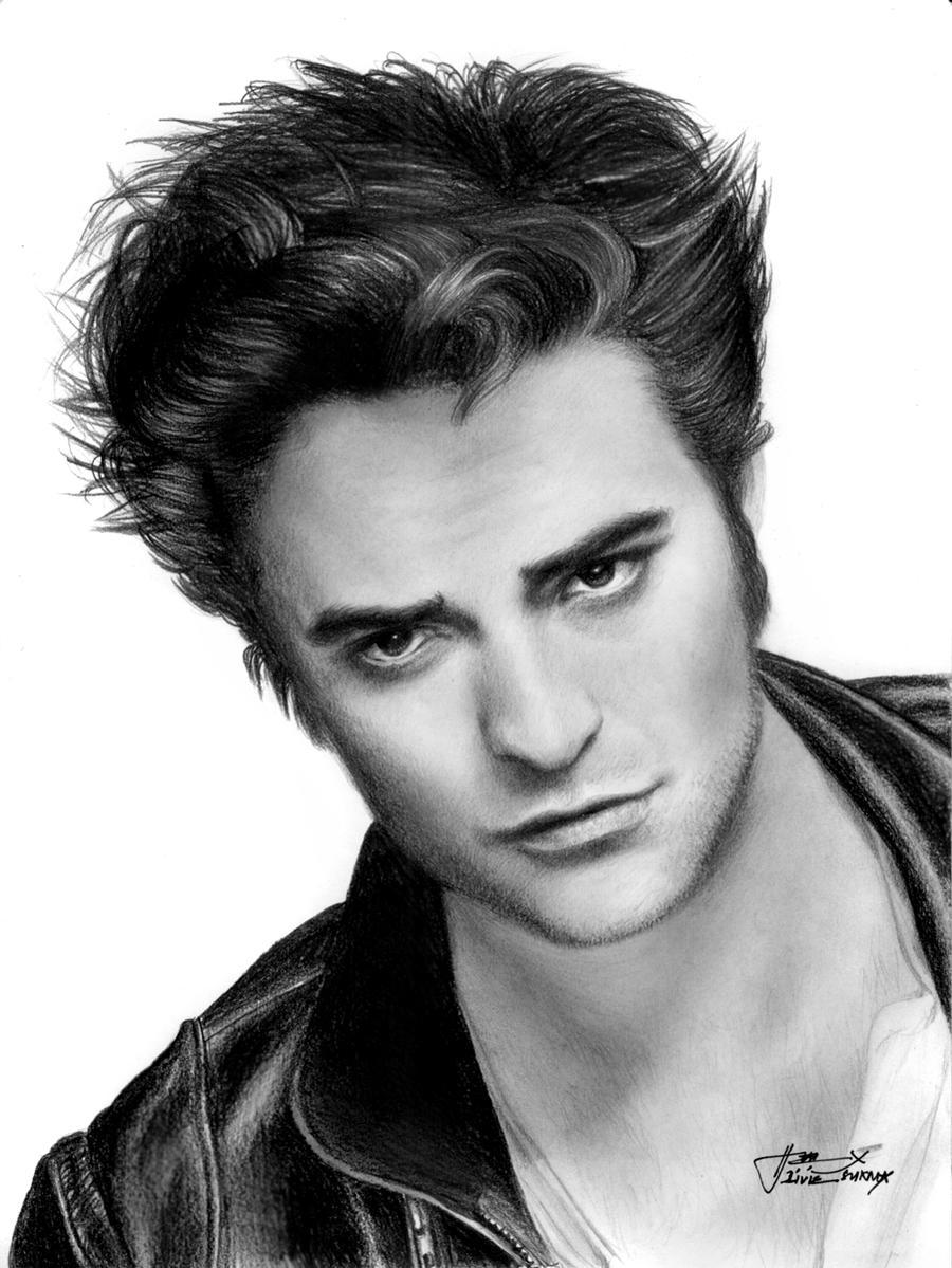 Robert Pattinson as Edward Cullen by LivieSukma