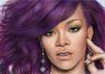 Rihanna purple