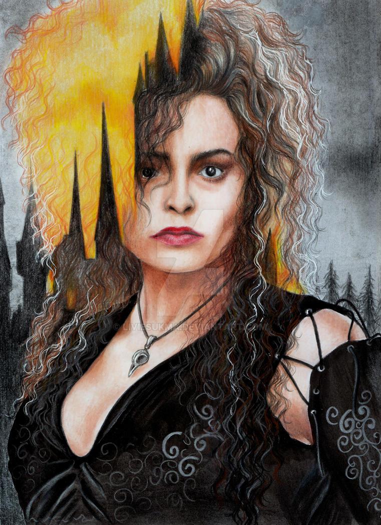 Bellatrix Lestrange by LivieSukma