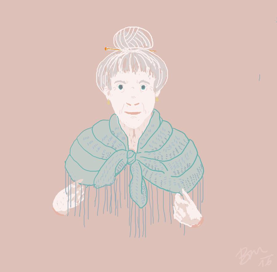 grandma by Pan-krt