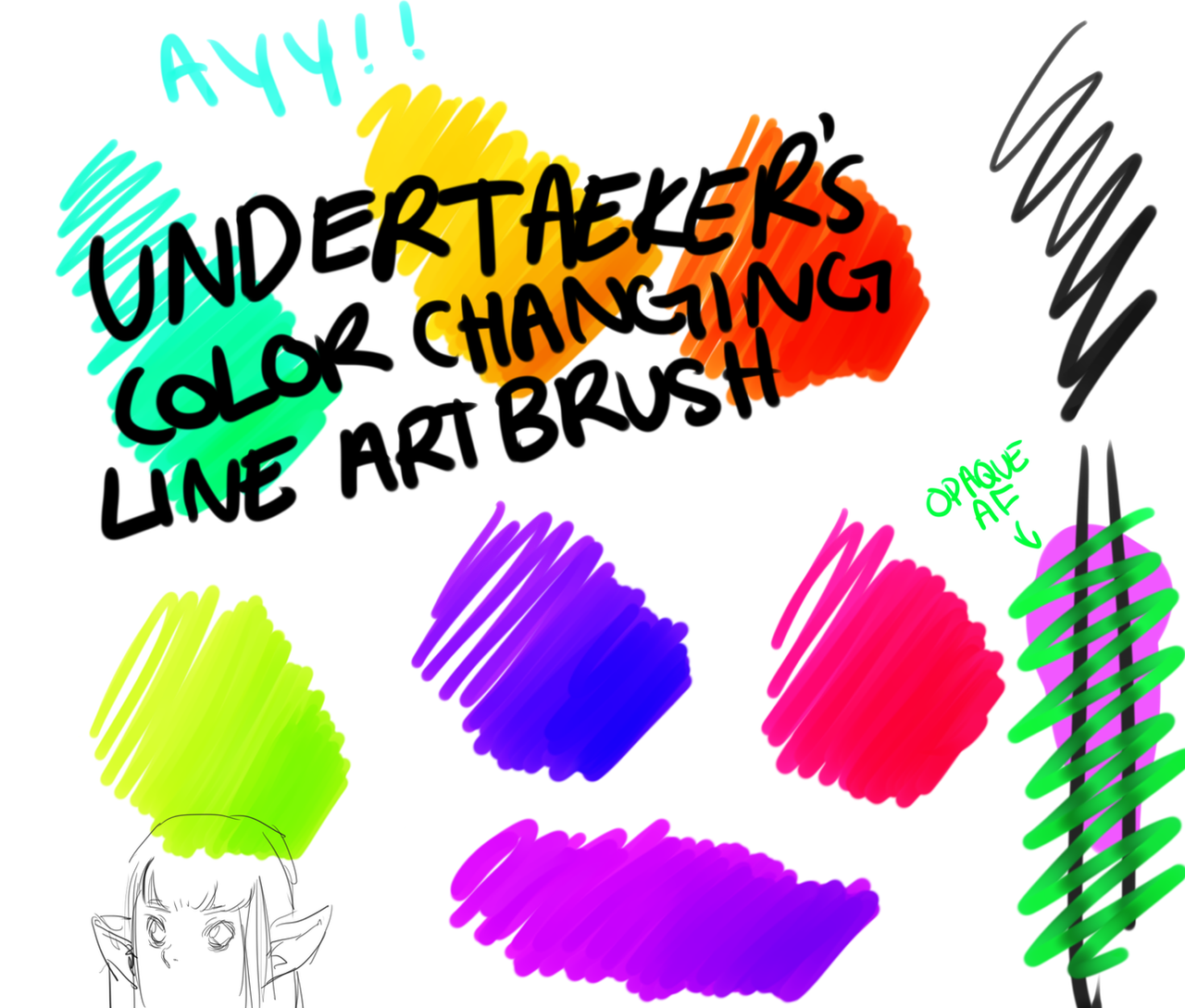 How to change brush colour in illustrator
