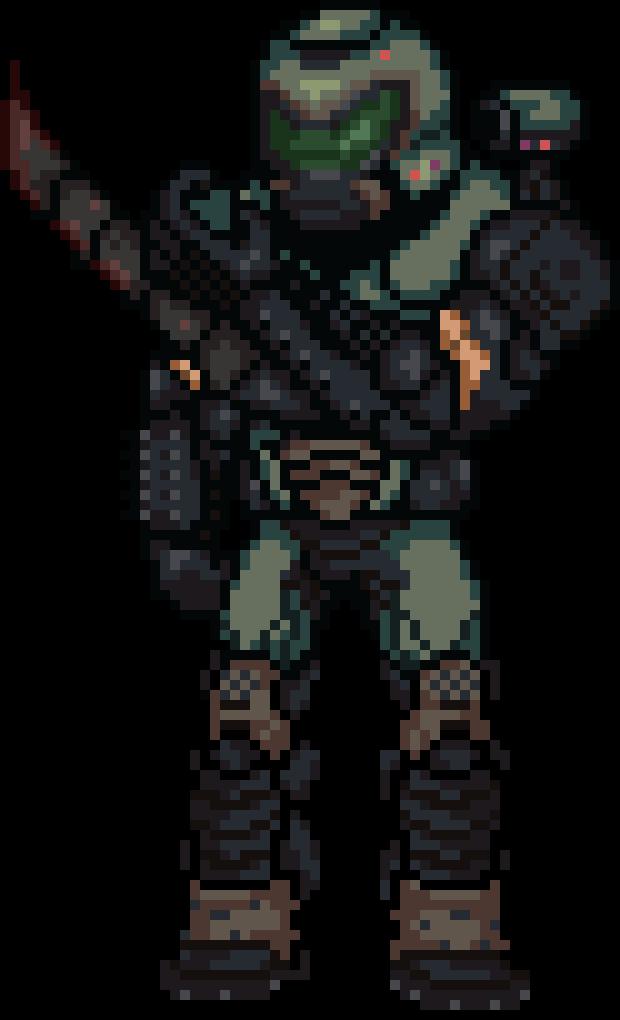 Doom Slayer By Breeky On Deviantart