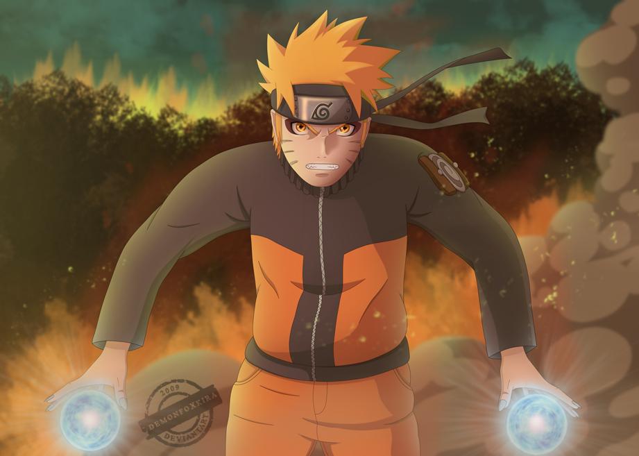 Full Power Naruto by DemonFoxKira