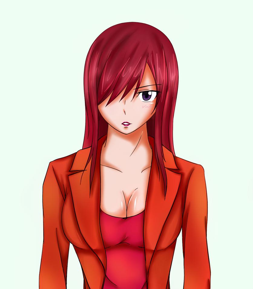 Erza Scarlet by Belmont012