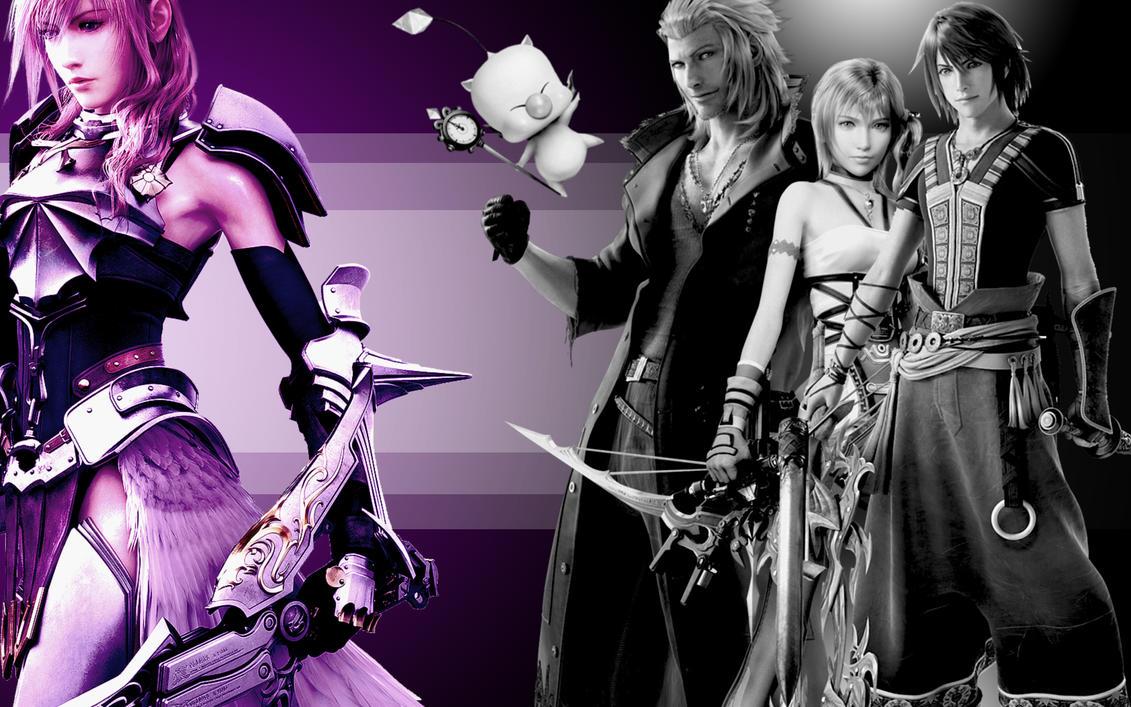 Final Fantasy 13 2 Wallpaper: Final Fantasy 13-2 Wallpaper By XNaschi On DeviantArt