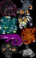 Chibis!! by Cassandra1891