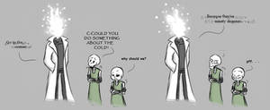 Cold humor