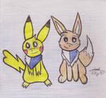 Hoshi and Mochi