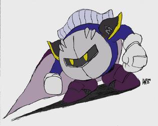 Meta Knight by MarcusWilliams