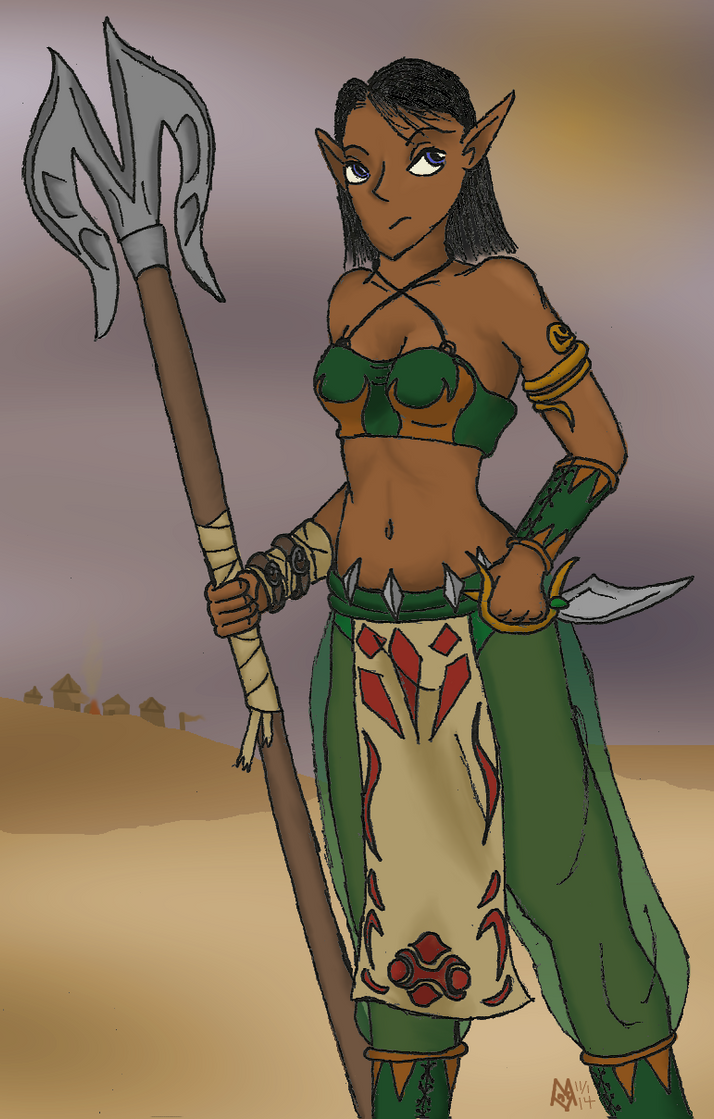Warrior Jade by MarcusWilliams
