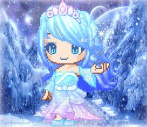 Fantage Winter Contest Entry for Crystal8064  :) by Rainbowplum-Cerkana