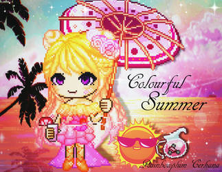 Fantage Colourful Summer Contest Entry by Rainbowplum-Cerkana