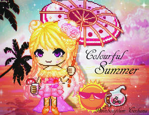 Fantage Colourful Summer Contest Entry