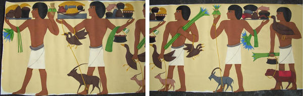 Egyptian booth skirt by Dodo-Butt