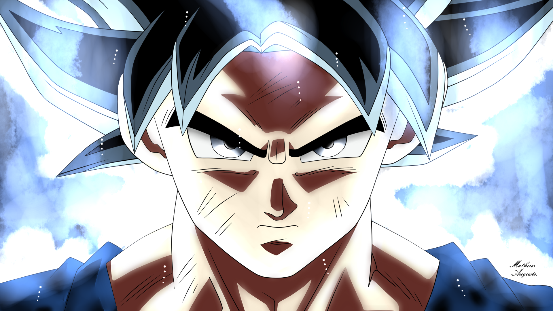 Goku Instinto Superior By Pentakill10 On Deviantart