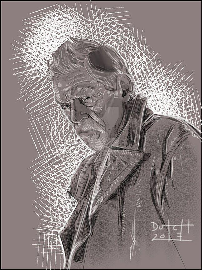 John Hurt - War Doctor by Dynamic-Illustration