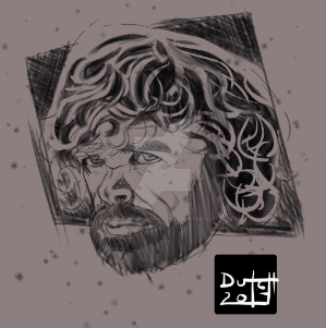 Tyrion Lannister sketch by Dynamic-Illustration