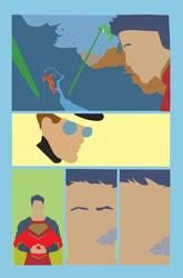 New Superman flats issue 23 pg  Hi-Fi Colour Desig