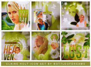 Claire Holt Icon Set