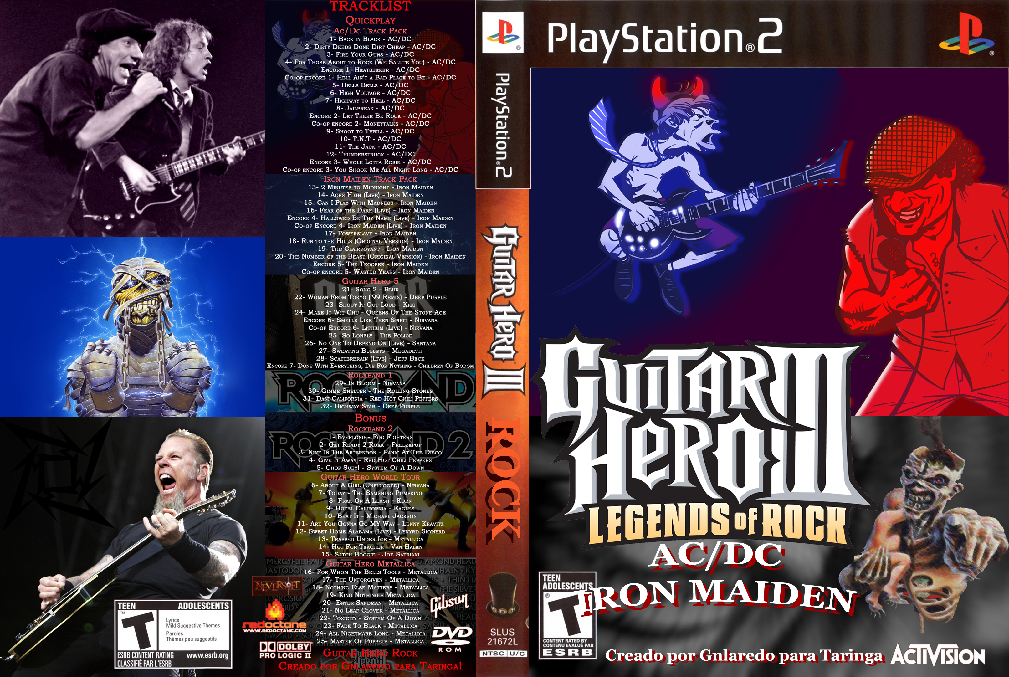 Guitar Hero Rock (Ac/Dc, Iron Maiden)[MF]