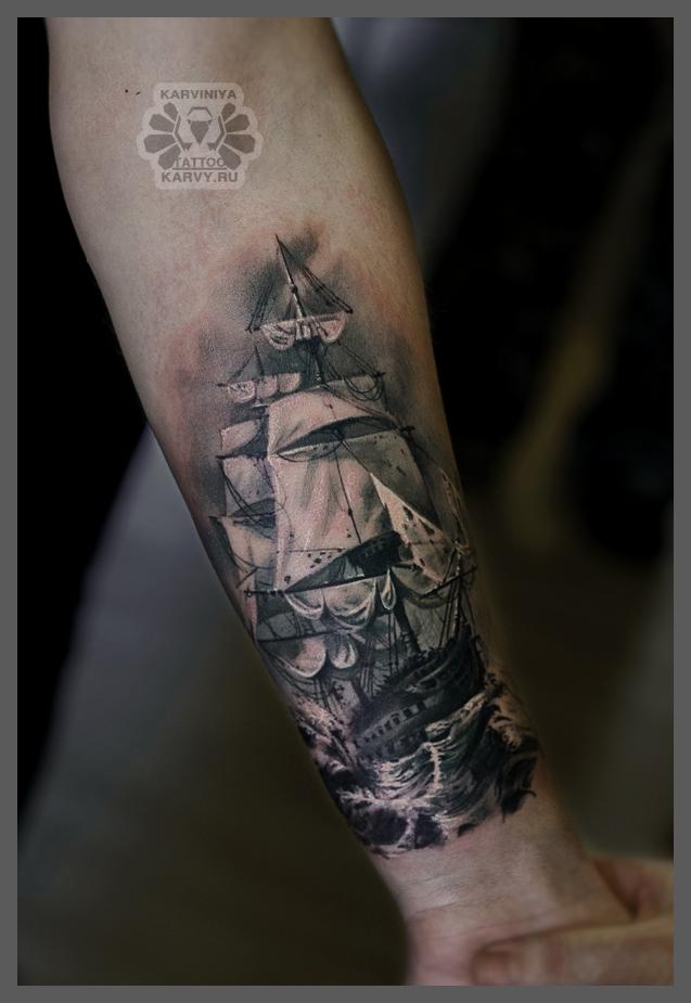 ship by Karviniya