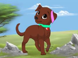 my dog Fursona (Puppy maker version) by MjMagicPets