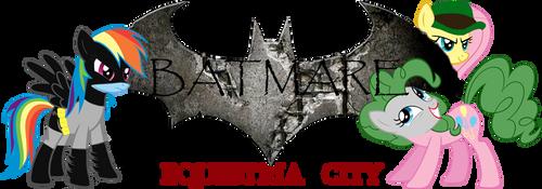 Batmare: Equestria City banner