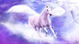 Pegasus Spirit - 4k wallpaper