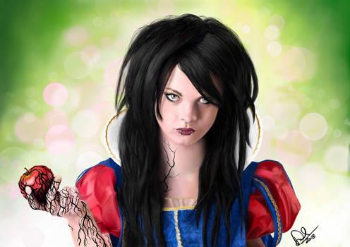 Snow White and The Bad Apple - Procreate Portrait