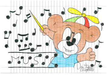 Kubear And The Notes by Stefered