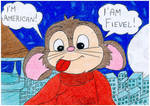 Fievel I'm American! by Stefered