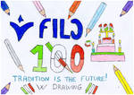 100 Years Fila Company Drawing by Stefered
