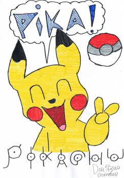 Pikachu Marking