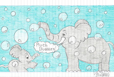 Elephants In The Bubbles Bubbles