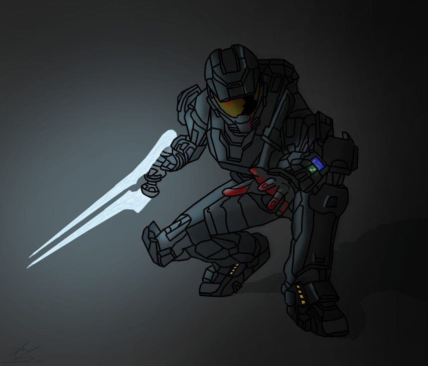 Zombie Spartan of Reach by cfowler7