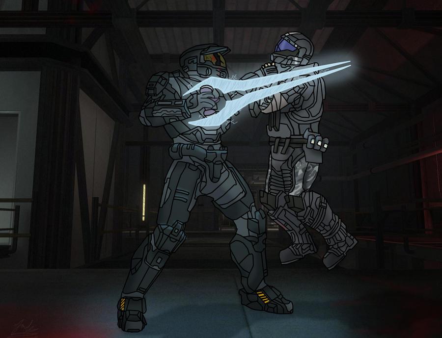 Reach: Zombie vs ODST by cfowler7