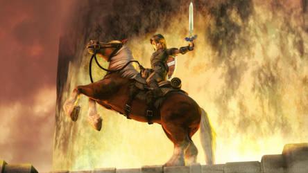 Zelda - Victory on Eldin Bridge by cfowler7-SFM