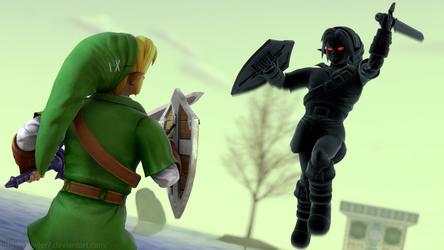 Zelda - Dark Link by cfowler7-SFM
