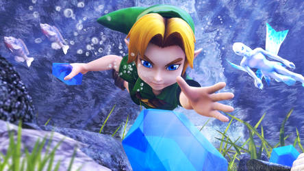 Zelda - Diving Game
