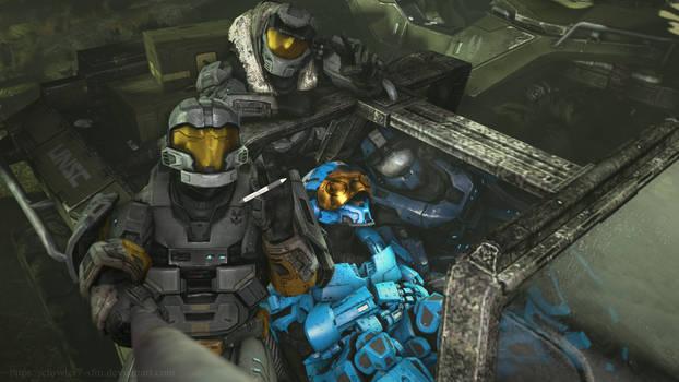 Halo - In the glove box